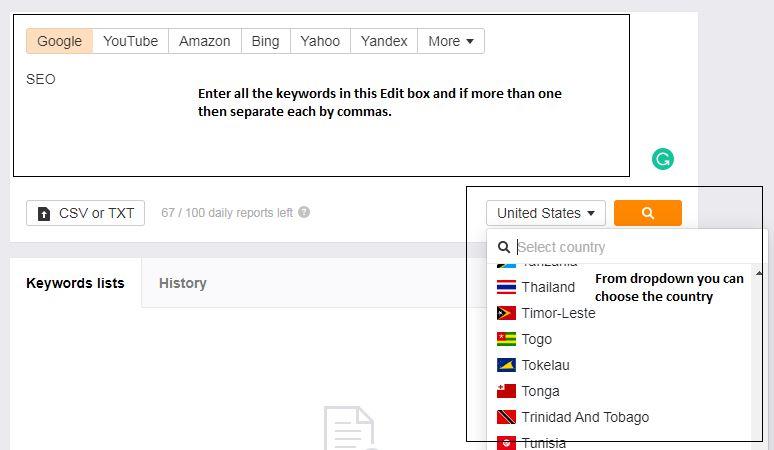 Ahref keyword explorer for keyword research