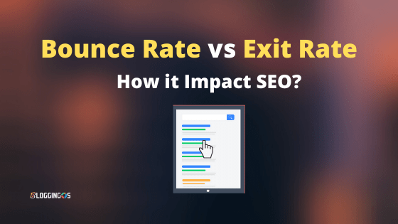 Bounce rate vs Exit rate major differences and how it impact SEO and Google ranking