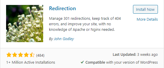 Redirection wordpress plugin for wordpress