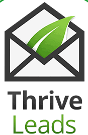 Thrive Lead email capturing lead