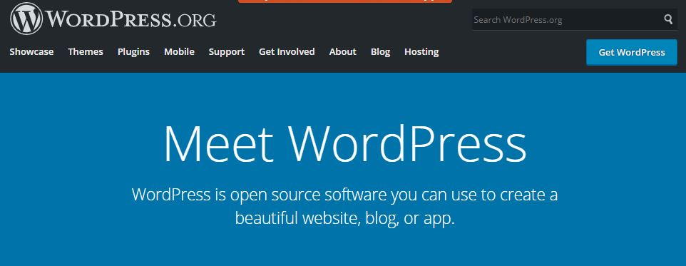 WordPrerss.org Dashboard