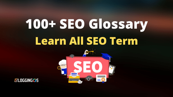 SEO Glossary and 100+ seo terminologies all in one