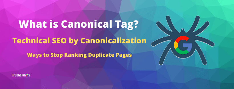 What is Canonical Tag and Canibalization