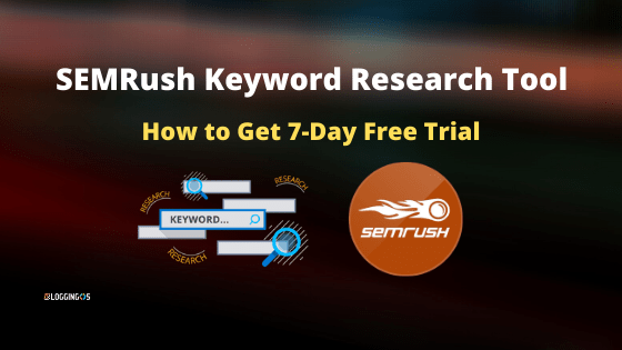 SEMRush Free Trial for 7 day