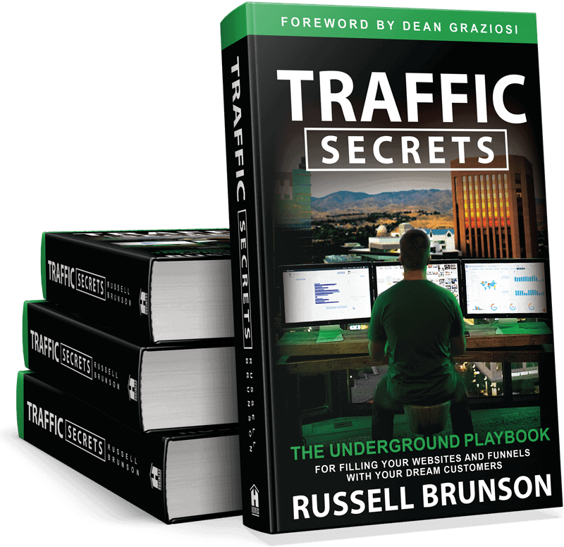Traffic Secret book for Russel Brunson