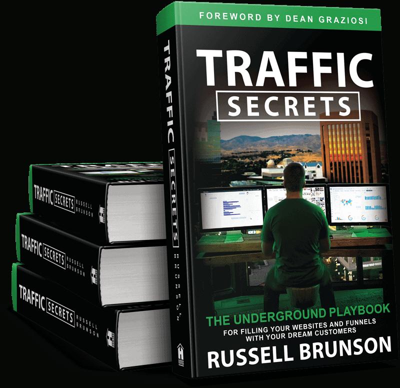 Traffic Secret book for Russel Brunson