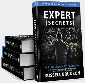 Expert Secret by Russel Brunson