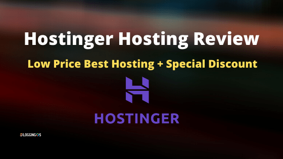 Hostinger Hosting Review