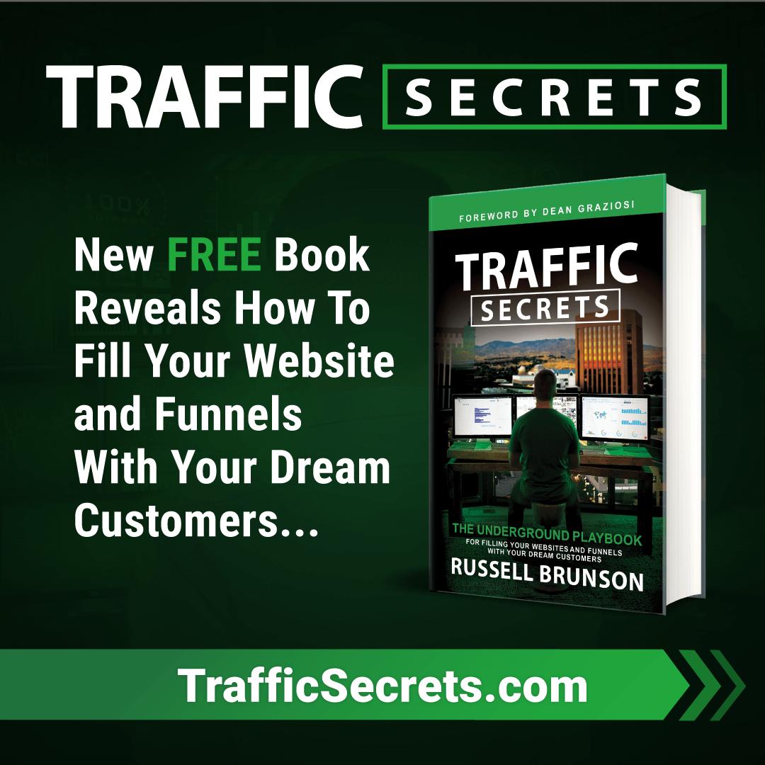 Traffic secret book on Clickfunnel