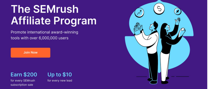 SEMRush affilaite Program