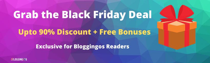 Black friday web hosting sale
