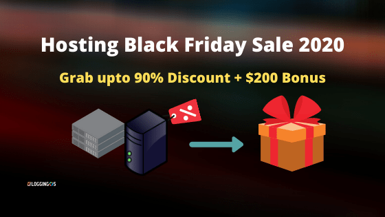 Web Hosting Black Friday Sale upto 90% off + $200 Bonuses