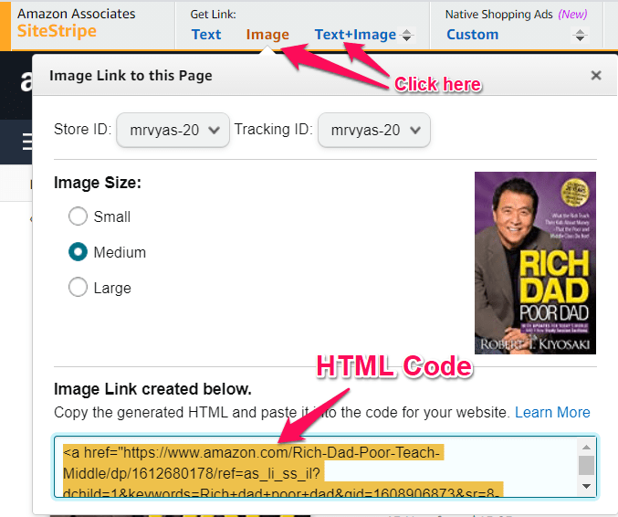 Can i use amazon affilaite images in blog post