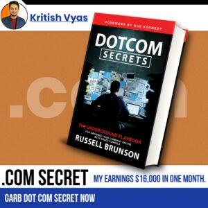 Free DOT COM Secret Book