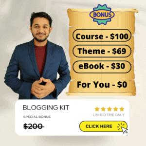 MRVYAS Bloggingos $200 free welcome kit